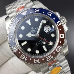 ROLEX GMT Master II 126710 BLRO Real Ceramic 904L SS Noob 11 A3285