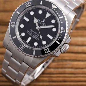 ROLEX Submariner 114060 904L Steel ARF11 A2824
