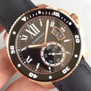 CARTIER Calibre De Cartier Diver RG TF 11 Nylon Strap A23J